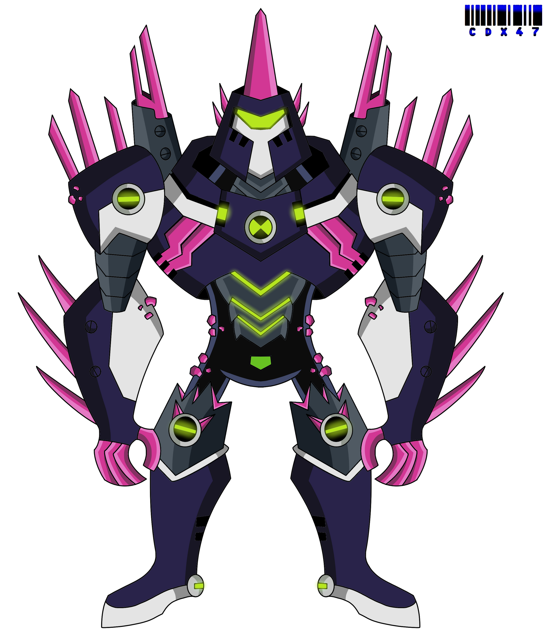 Omni Kix Chromastone By Xxcodex47xx On Deviantart Ben 10 Comics Ben 10 Alien Force Ben 10
