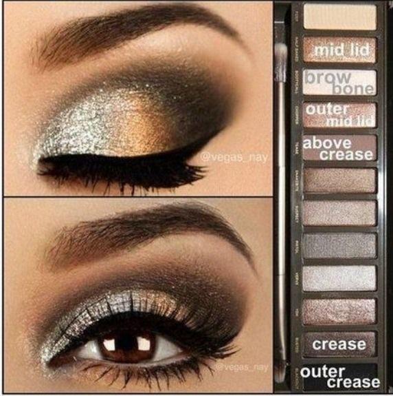 1 eyeshadow tutorial using urban decay naked 3 | amazingmakeups. Com.