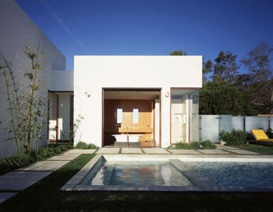 Minimalist Houses Design  We present the Sagaponac House, a stunning  luxury house whose hallmark