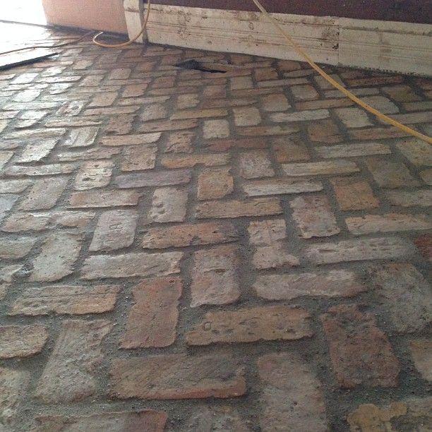 Antique Brick Pavers Installed A Week Early! #illtakeit
