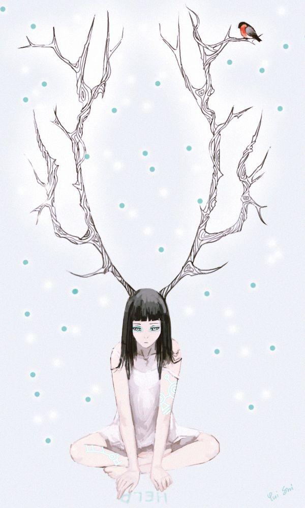 Anime video of deer fucking girl
