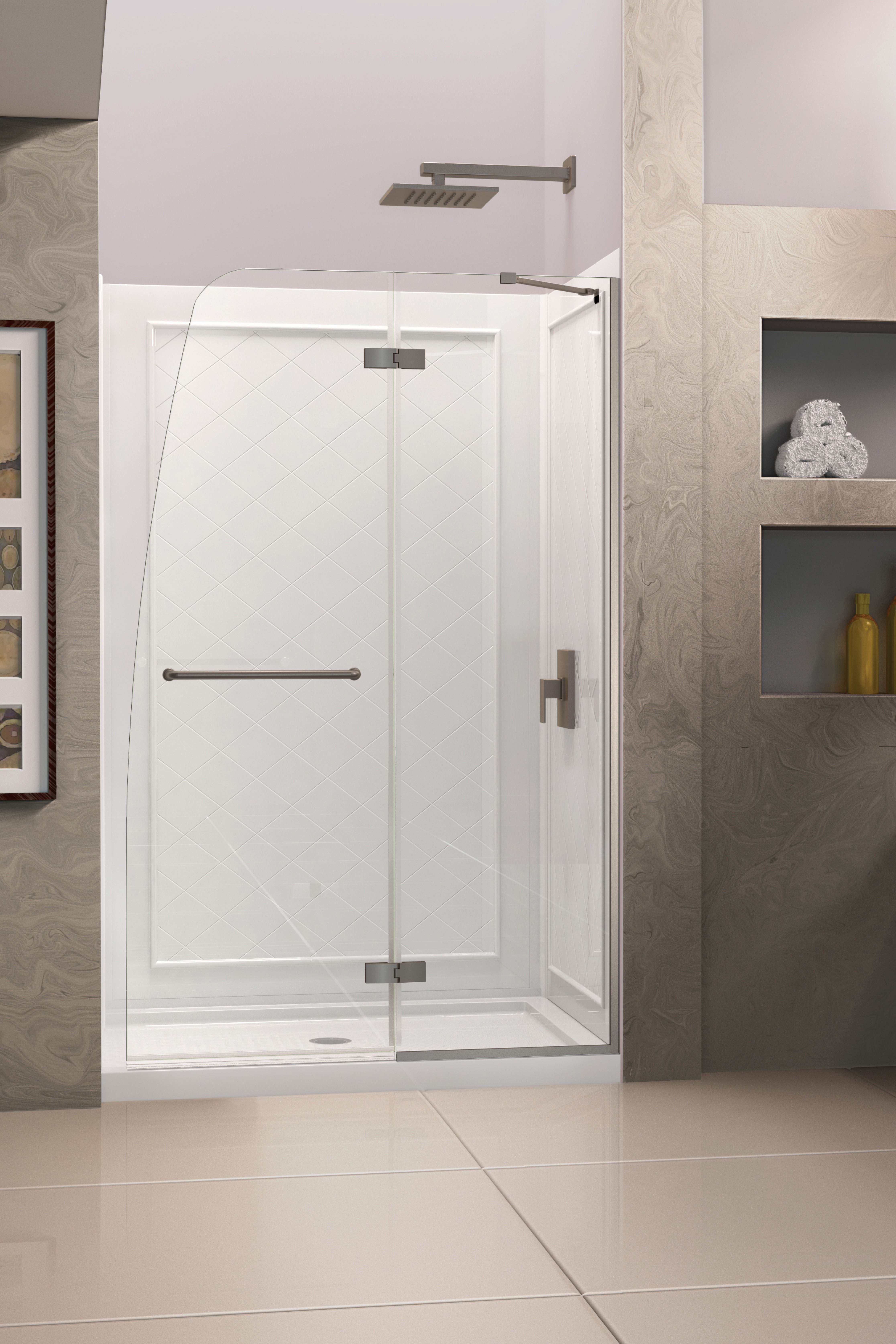 The Dreamline Aqua Ultra Shower Or Tub Door Will Be The