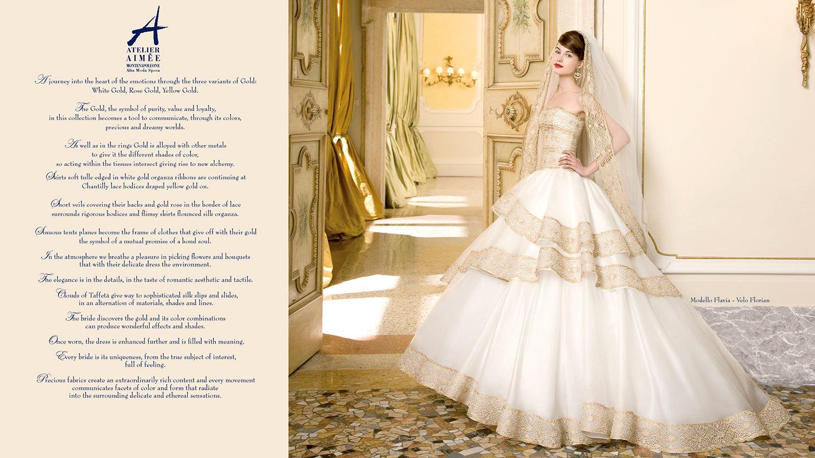 abito da sposa atelier aimée