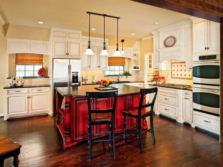 35 Top Red Kitchen Design Ideas Trends To Watch For In 2018  Red Amazing Moben Kitchen Designs 2018