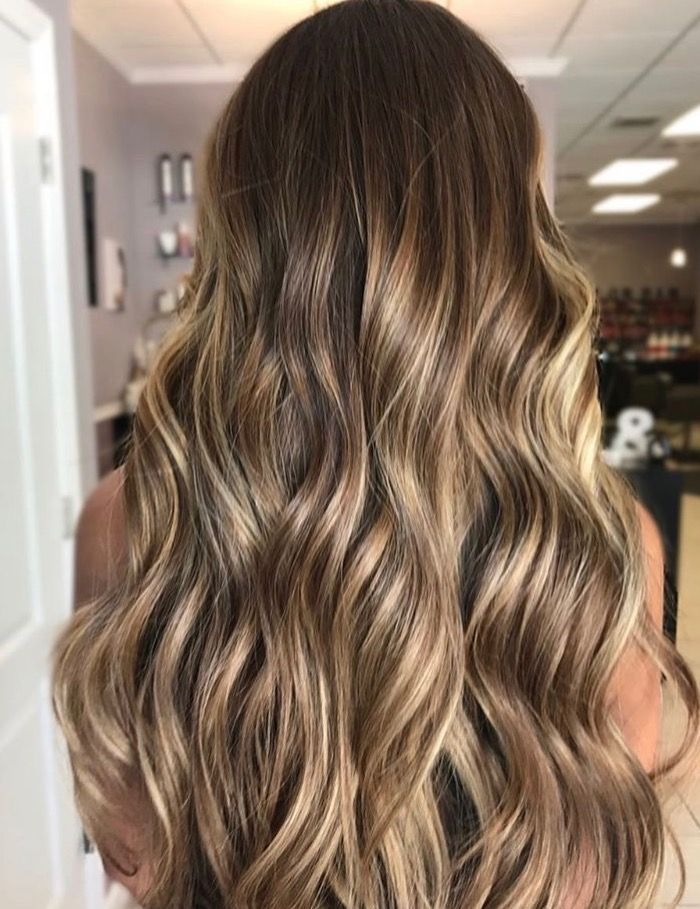 Hand Painted Blond Bayalage Mariecolorist Blonde Hair With Highlights Brownish Blonde Hair Color Hair