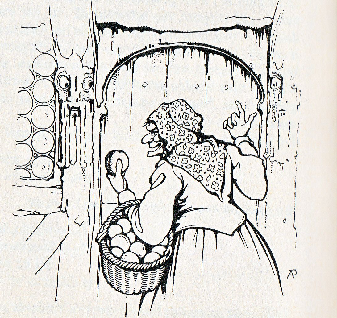 Anton Pieck Uit Grimm Sneeuwwitje 2 Anton Boekillustraties Pentekeningen