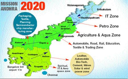 Andhra pradesh to have green corridor telugu people news from ap to allot 30000 acres of land to capital malvernweather Choice Image