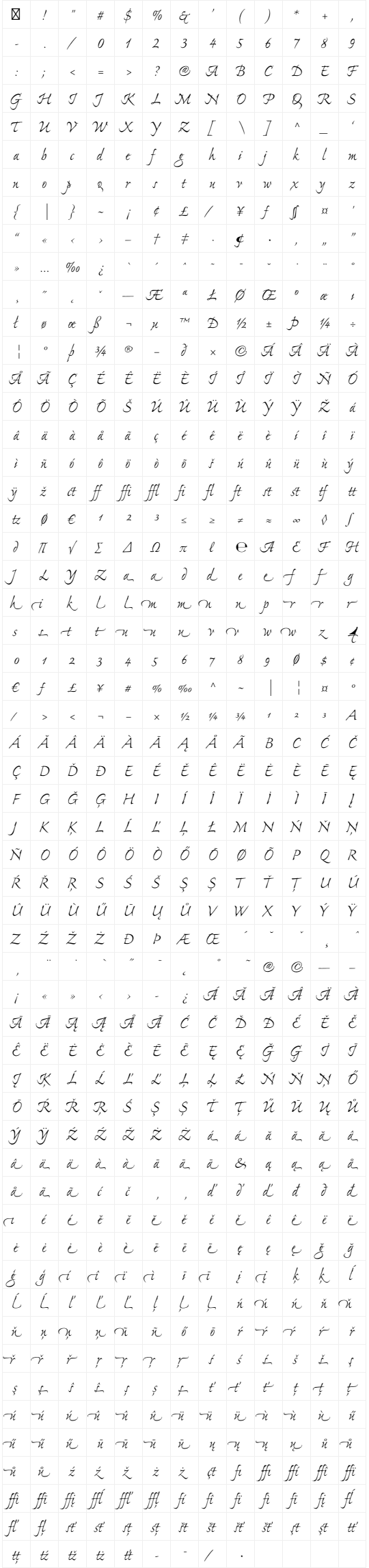 Ex Ponto Pro fonts, $95