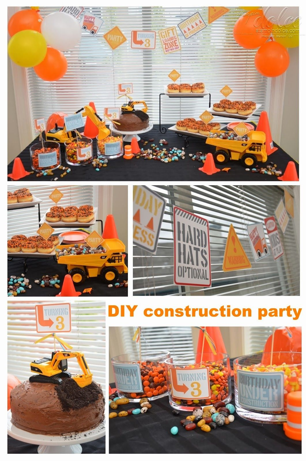Construction theme birthday party in 2020 birthday party