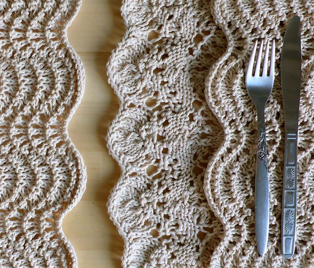 Diy placemats burlap twine and crochet diy placemats crochet placematsplacemat patternsknitting bankloansurffo Image collections