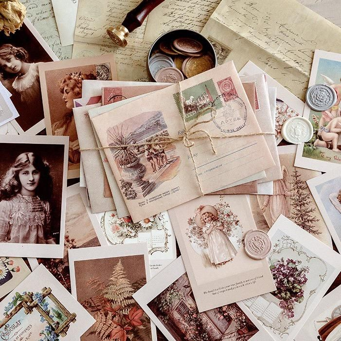 Vintage Letters Envelope Set Pen Pal Letters Letter Photography Vintage Lettering