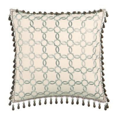 Eastern Accents Kira Verlaine Beaded Trim Decorative Pillow Http Www Eadeswallpaper Com Pillows Decorative Pillows Throw Pillows