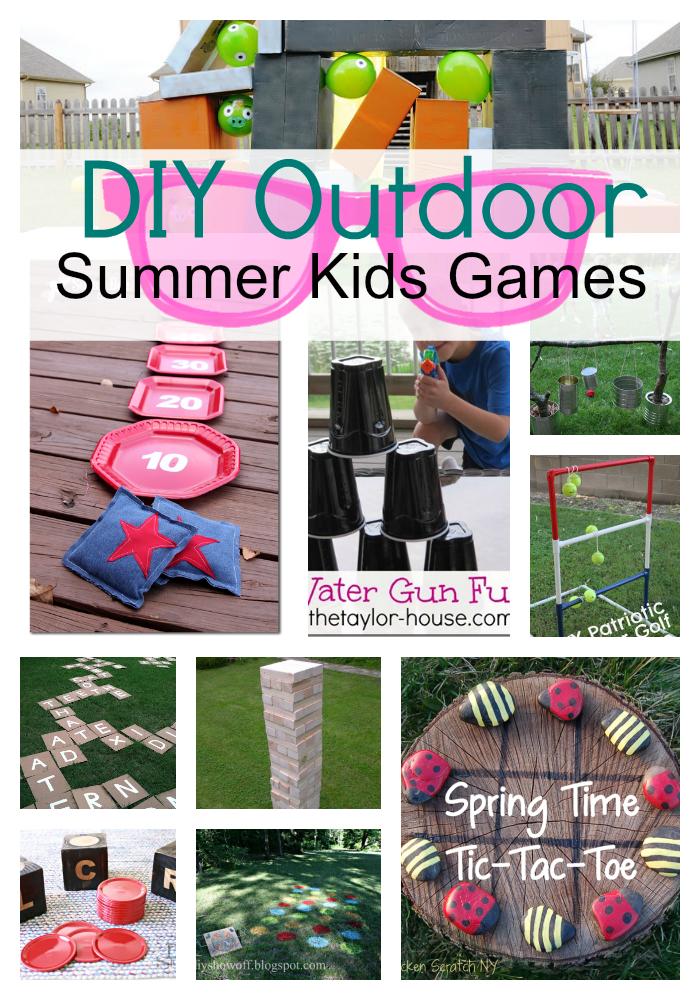 Diy Outdoor Games For Kids Princess Pinky Girl Summer Kids Outdoor Games For Kids Games For Kids