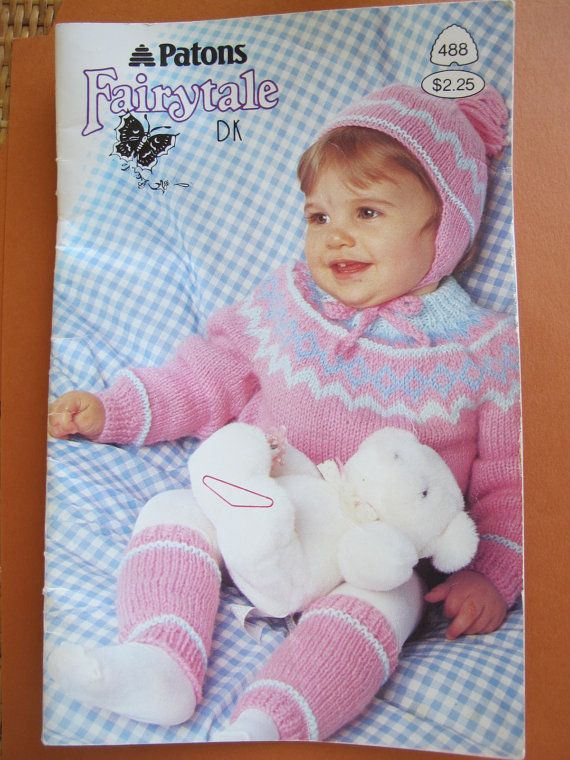 693d6a80eb08 Patons Fairytale DK   Toddler knitting patterns   Boy and girl ...
