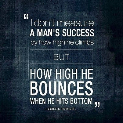 Bounce Back Quotes Fair What Are Some Great Quotes About Resiliencebouncing Back  Quora