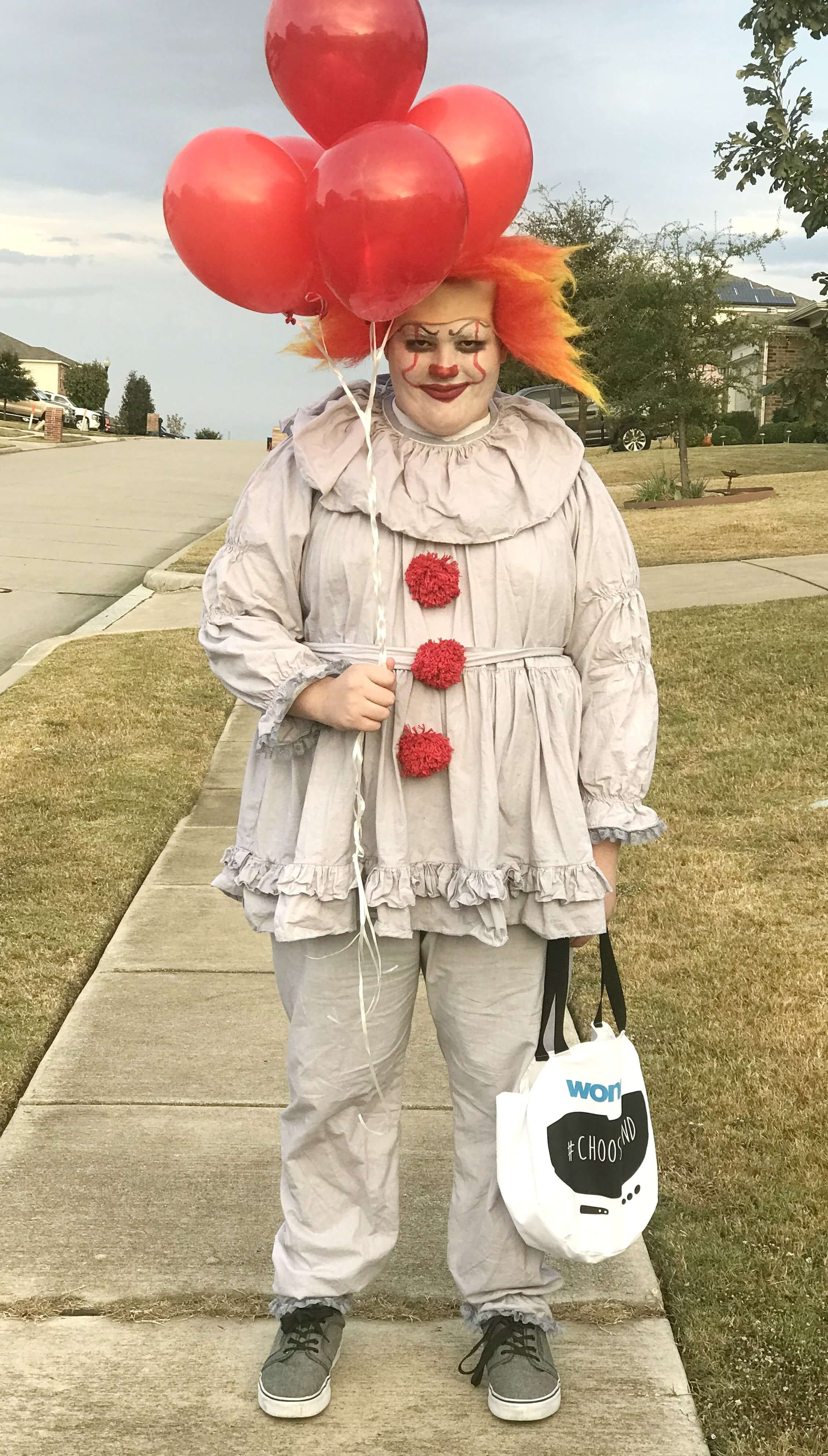 Easy Pennywise Costume Clown costume kids