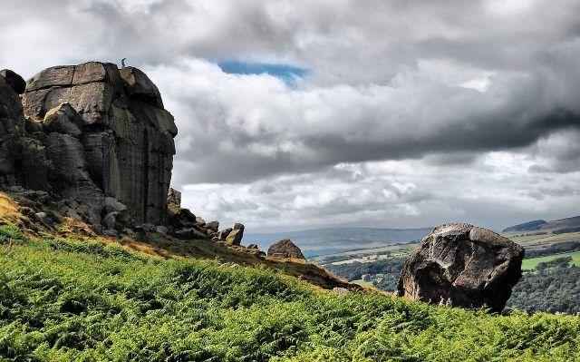 Ilkley Moor - England