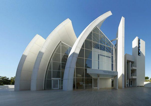 Architectural Building Elements : Rhythm in architecture is the repetitive use of a