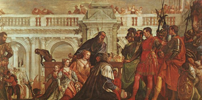 The Family of Darius before Alexander by VERONESE, Paolo #art