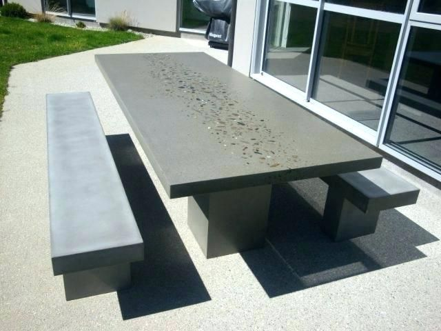 Cement Outdoor Table Cement Garden Furniture Cement Outdoor Table