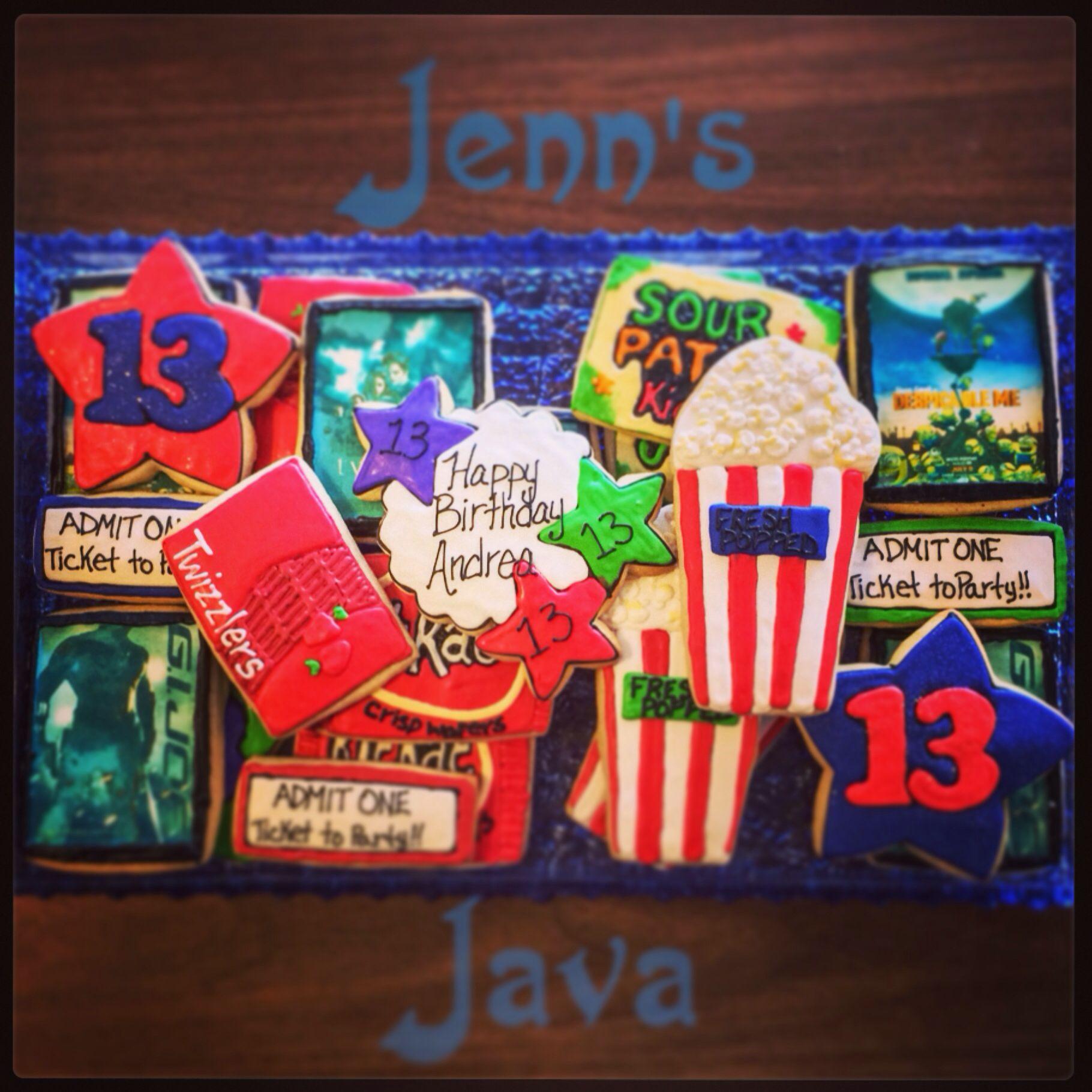 Movie cookie order