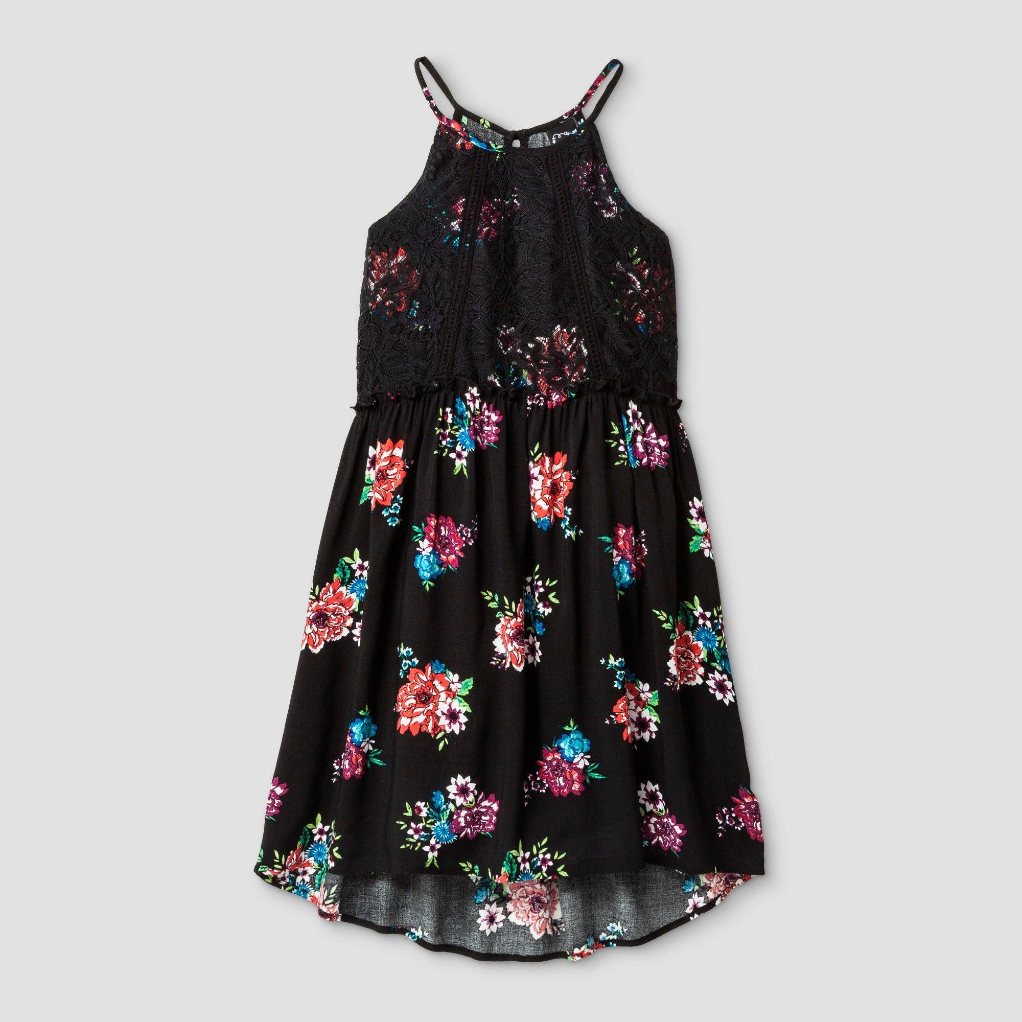 Girls aline dress art class black m art dress