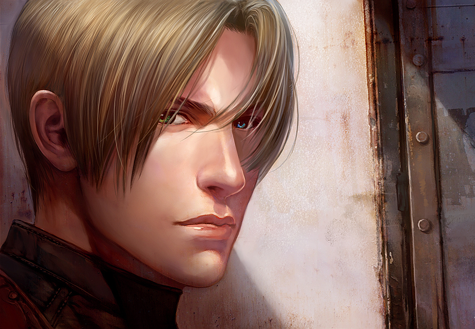 Leon Kennedy With Coltons Eyes Yesssss In 2018 Pinterest
