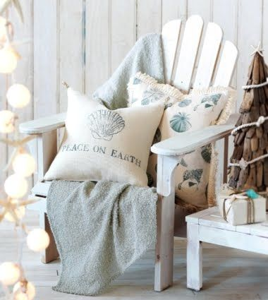 Coastal Tidings -Beachy Christmas Collection from Eastern Accents: http://www.completely-coastal.com/2012/11/coastal-tidings-beachy-Christmas-collection-Eastern-Accents.html