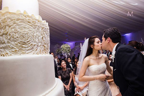Toni Gonzaga Paul Soriano Wedding Reception 34 Celebrity Weddings Wedding Wedding Reception