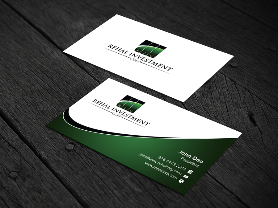 Create Professional And Modern Business Card By Mr Minimalist Modern Business Cards Social Media Page Design Custom Business Cards