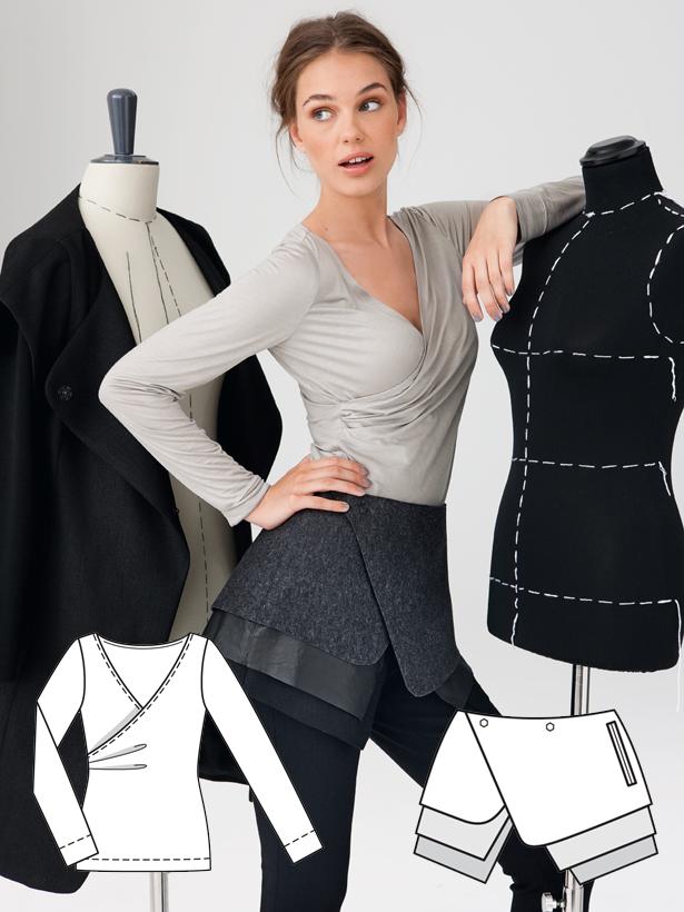 Minimalista moderna: 11 Nuevos Patrones - Blog de coser | BurdaStyle.com