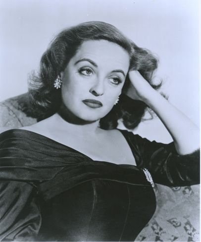 Bette Davis, ca. 1940, from her personal collection held at Boston University