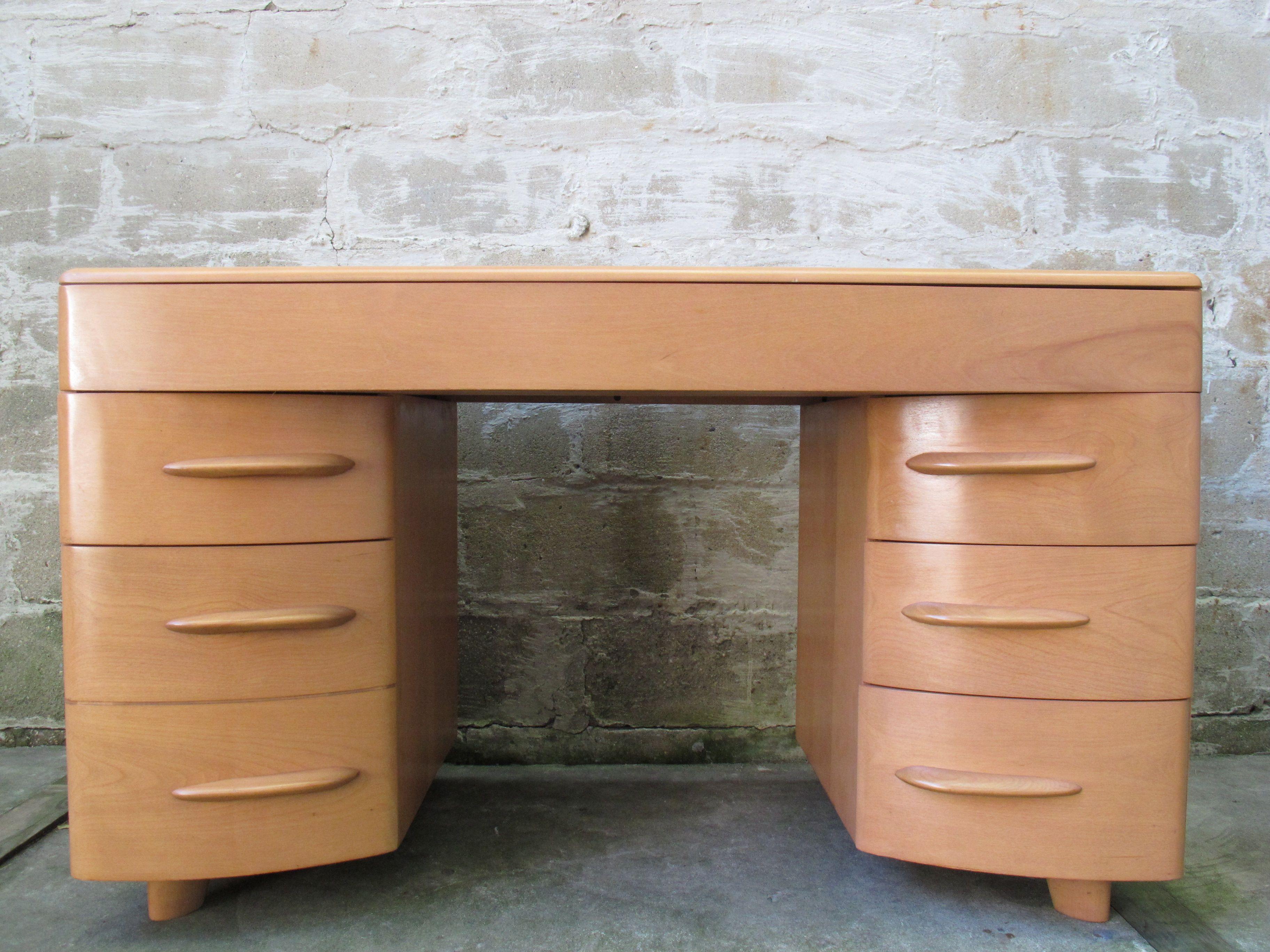 Heywood Wakefield Kneehole Desk Model