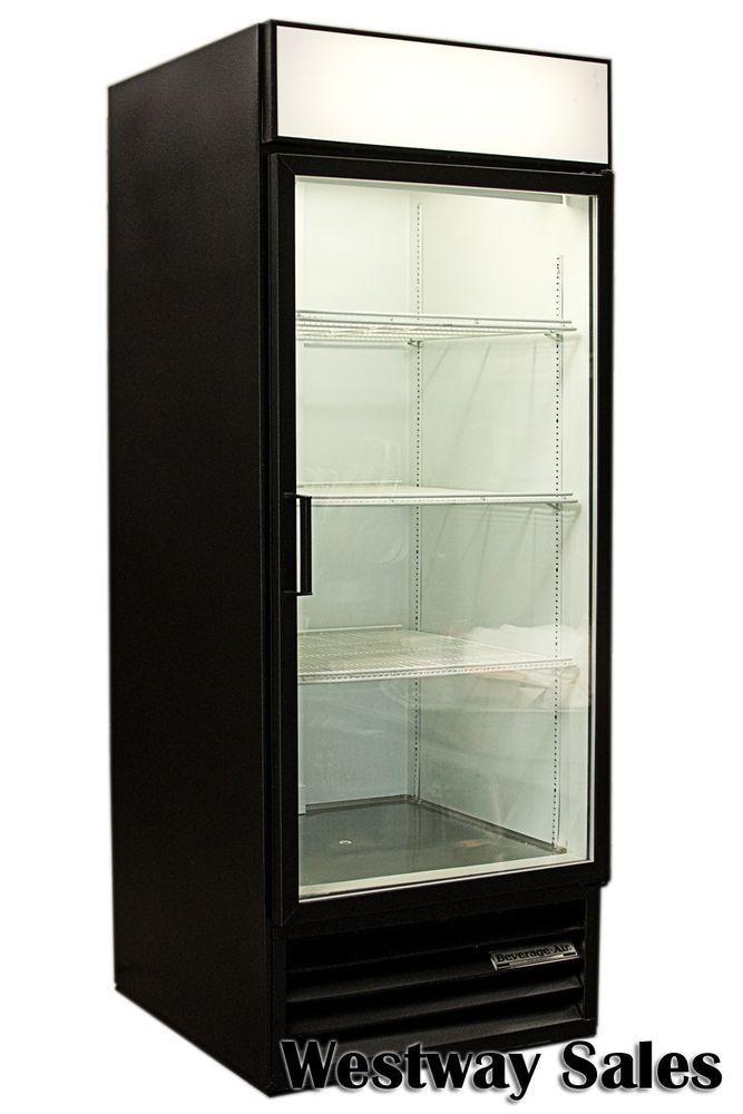 Beverage Air MM27 Single Glass Door Round Front Refrigerator Cooler  Merchandiser #BeverageAir