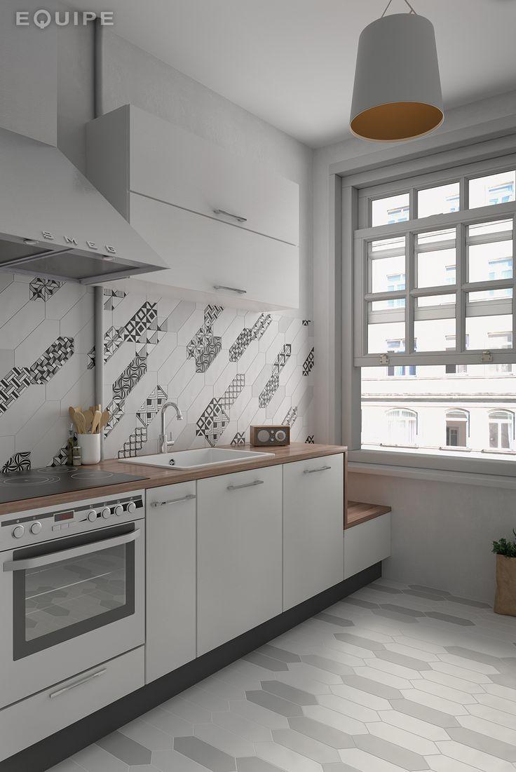 Genial Faux Ombre Küche Fliesen (mit Bildern) | Küchen ...