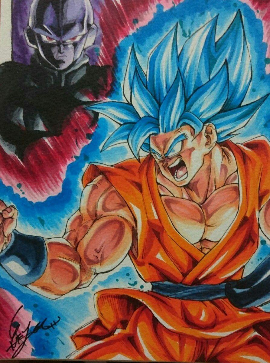 Goku Vs Hit Anime Dragon Ball Super Dragon Ball Art Anime Dragon Ball