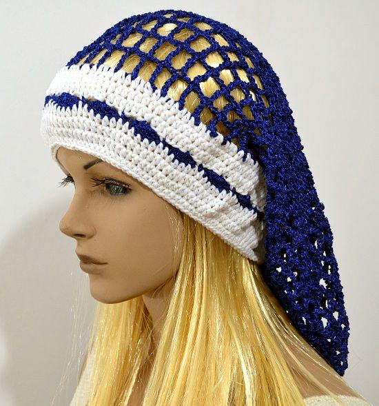 Boina caida en tejido crochet | Crocheteando | Pinterest | Cayendo ...