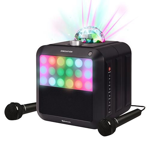 Singsation Star Burst All-in-One Karaoke System and Bluetooth Speaker #karaokesystem