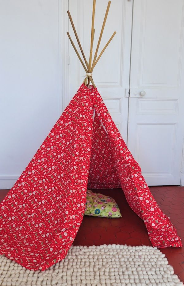 Tipi indien deco design diy kids room et teepee tent - Tipi indien chambre ...