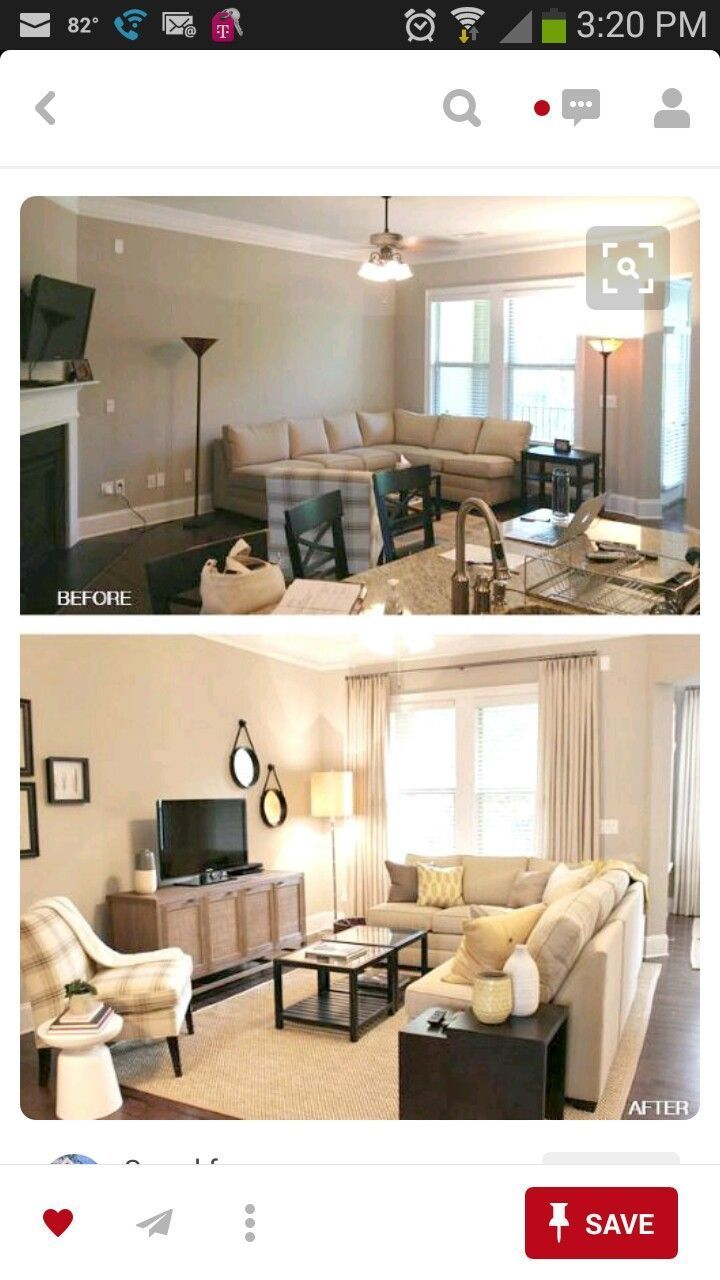 how to set up a living room furniture placement