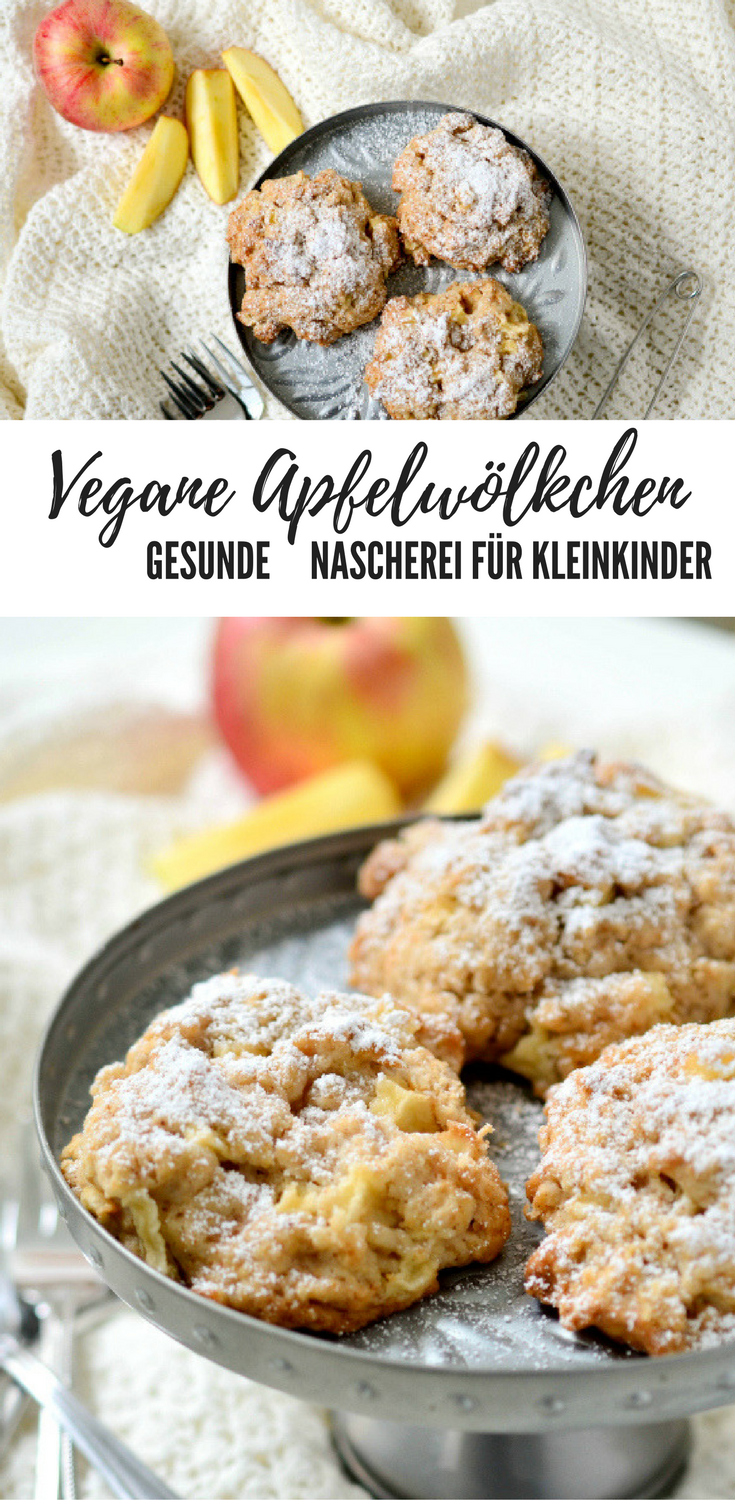 Photo of {Recipe} Vegan Apple Clouds / For the little ones – Bites for …