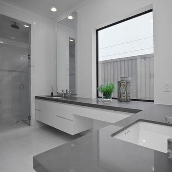 1000+ images about Grey bathroom on Pinterest | Modern townhouse ...