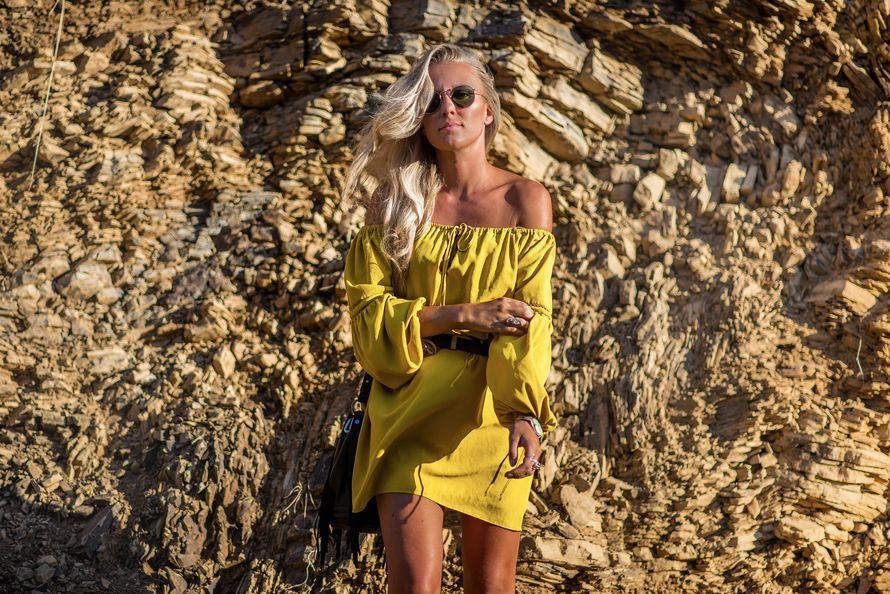 Zara yellow hippie dress startlivingyourbestlife | Cosmopolitan