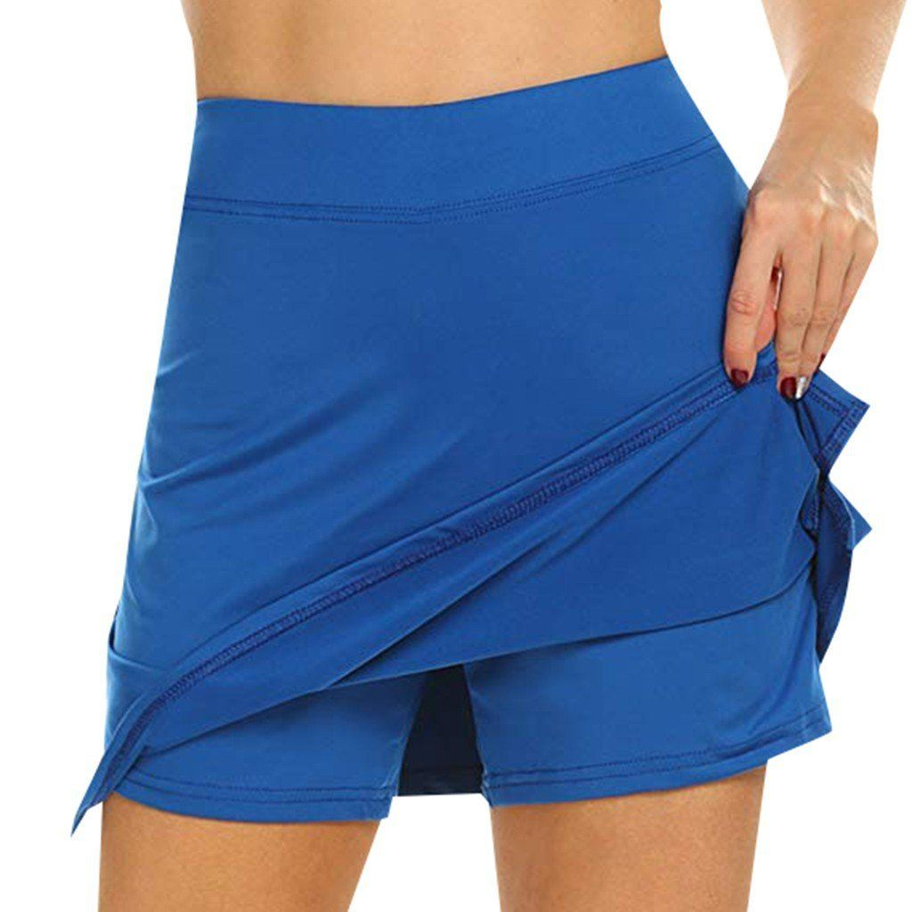 Anti-Chafing Active Skort Performance Skorts Skirt skirts womens Sports pencil