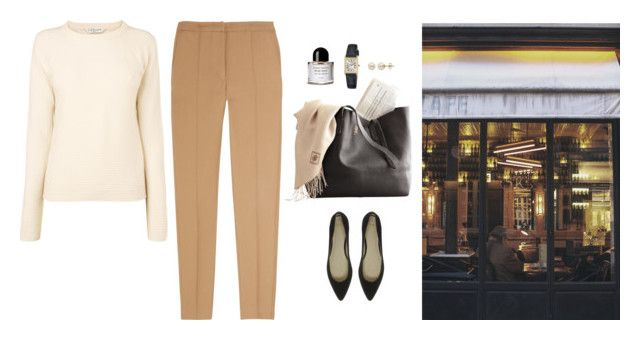 """""""Untitled #378"""" by inlateautumn ❤ liked on Polyvore featuring ASOS, Byredo, L.K.Bennett, Seiko, Sandro and Lord & Taylor"""