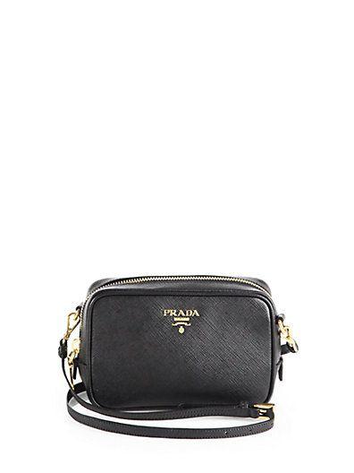 ab0da7bbfd9 Saffiano Camera Crossbody Bag - Zoom - Saks Fifth Avenue Mobile Prada  Shoes