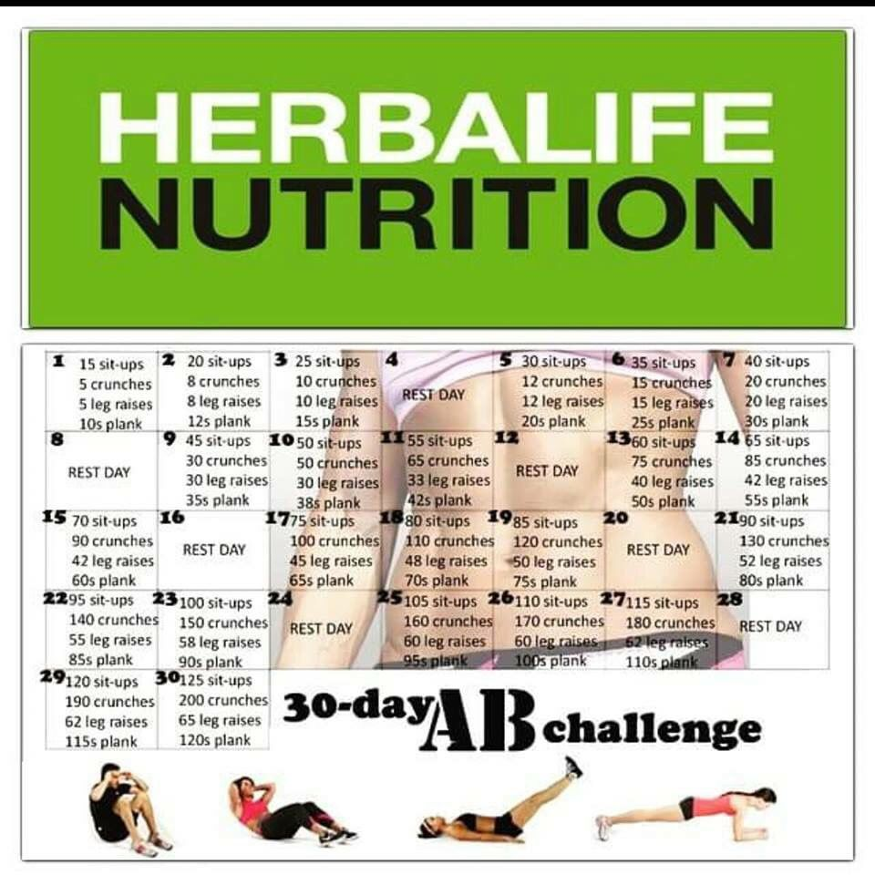 Abs Challenge Herbal Life In 2019 Herbalife Diet Herbalife