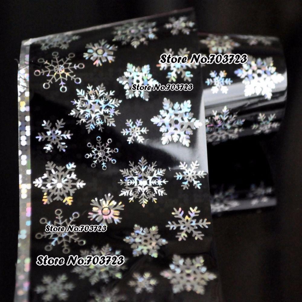 Harajuku mode sexy new Star Helle Nagel Aufkleber können übertragen werden Schöne schneeflocke SY615
