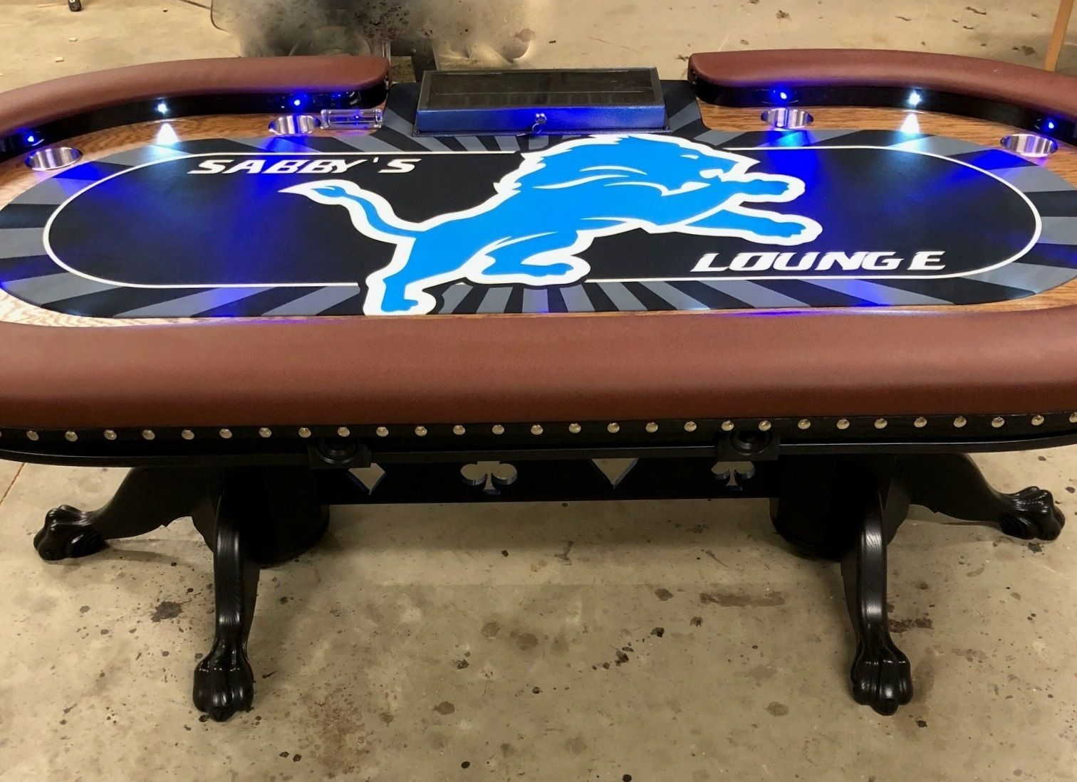 Remarkable Pin On Poker Tables With Lights Beutiful Home Inspiration Xortanetmahrainfo