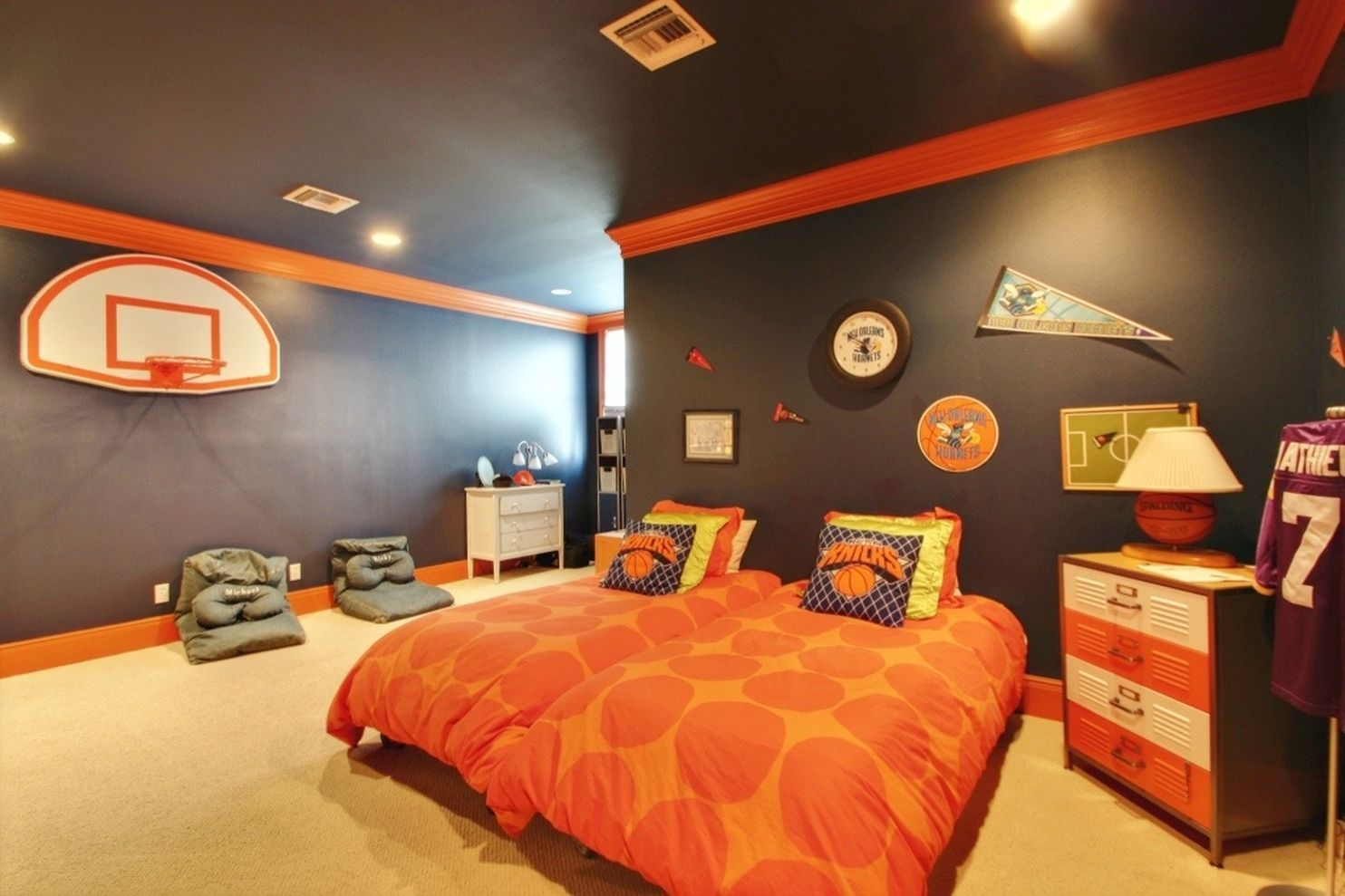 Delightful Inspiring Bedroom Design Ideas For Boy Who Loves Basketball 69
